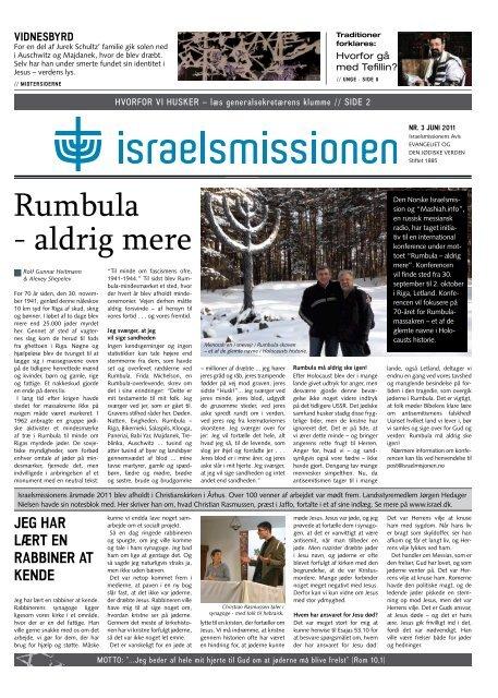 Nr. 3/2011 - Israelsmissionen