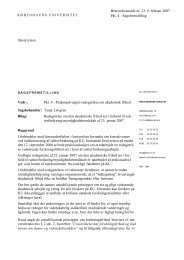 Pkt 04 - akademiske frihed sagsfremstilling - Københavns Universitet
