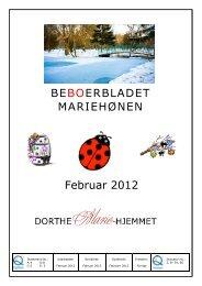 Februar 201 BEBO MARIEHØNE Februar 2012 ... - Mariehjemmene