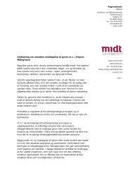 Vejledning om ansattes modtagelse af gaver m.v. i Region ...