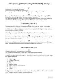 HNH – vedtægter pr. 21.02.2013 - Husum Ny Haveby
