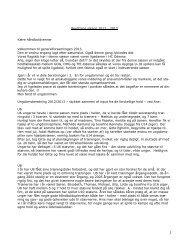 1 Beretning sæson 2012 - 2013 Kære håndboldvenner Velkommen ...