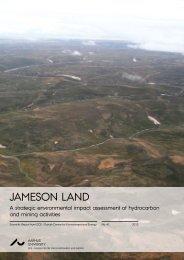 Jameson Land - DCE - Nationalt Center for Miljø og Energi