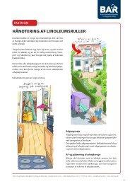 Hent Linoleumsruller - BAR Bygge & Anlæg