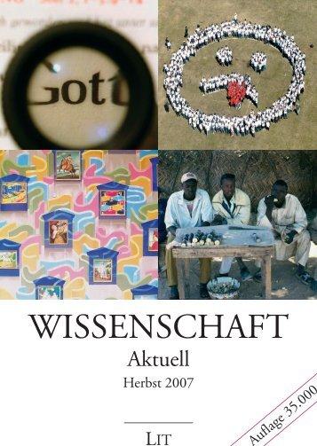 Aktuell - LIT Verlag