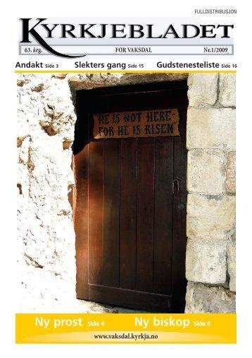 Side 1 - kyrkje kopi 3 - Velkomen til Den norske kyrkja i Vaksdal ...