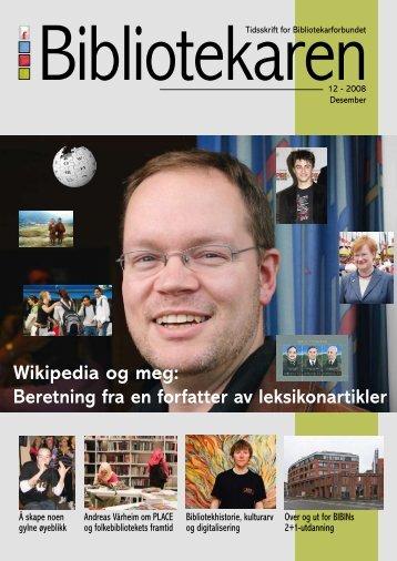 Wikipedia og meg - Bibliotekarforbundet