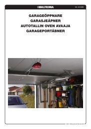 garageöppnare garasjeåpner autotallin oven avaaja ... - Biltema