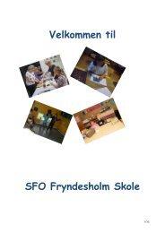 SFO-Folder - Fryndesholm Skole, Augustenborg