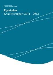 Egeskolens rapport [pdf] - Furesø Kommune