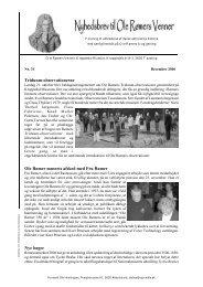 Nr. 31 - December 2006 - Ole Rømers Venner