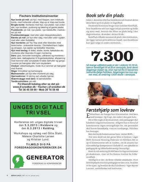 Børn&Unge nr. 001/2013 - Bupl