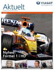 Nyhed! Formel 1 i HD - Viasat