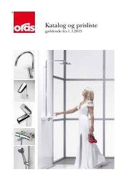 Katalog og prisliste 2013 - Oras
