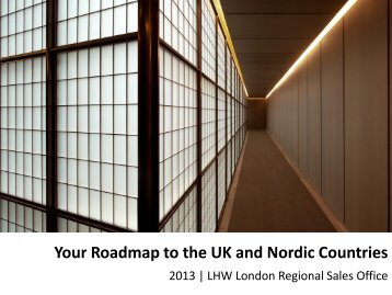 Your Roadmap to the UK and Nordic Countries