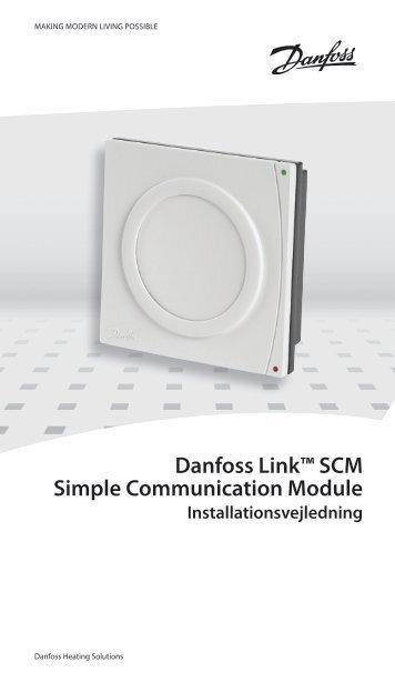 Danfoss Link™ SCM Simple Communication Module - Danfoss Varme