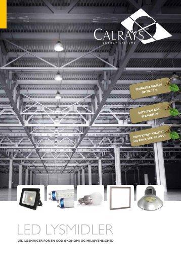 Hovedkatalog - LED LYS | Scanheat A/S