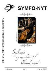 Marts 2009 - Aalborg Symfoniorkesters Venner