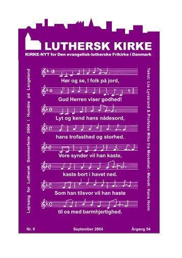 9 - Den Evangelisk Lutherske Frikirke