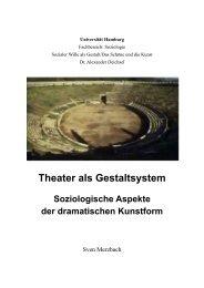 Theater als soziologisches Gestaltsystem - Sven Merzbach