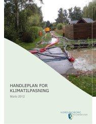HANDLEPLAN FOR KLIMATILPASNING - Vordingborg Kommune