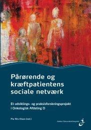Pårørende og kræftpatientens sociale netværk - Aarhus ...