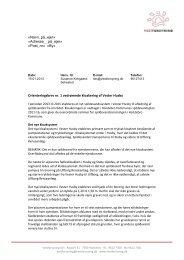 Klik her for at læse det brev, som bliver sendt ud til ... - Vestforsyning