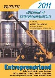 udlejning - Entreprenørland