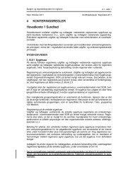 4.1 Hovedkonto 1 Sundhed - Budget- og regnskabssystemerne