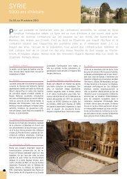 5000 ans d'histoire - Histoire & Voyages