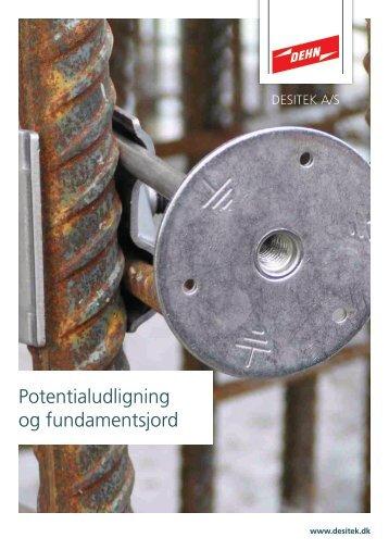 Potentialudligning og fundamentsjord - DESITEK A/S