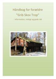 """Håndbog for forældre til """"Gule Spejdere """" - Grib Skov Trop"""