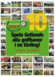 Spela Gotlands alla golfbanor i en tävling! - Golfa Gotland Runt 20 ...