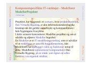 Modellor, PowerPoint præsentation