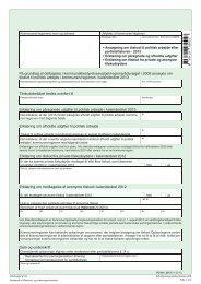 Ansøgning om tilskud til politisk arbejde efter partistøtteloven - 2013