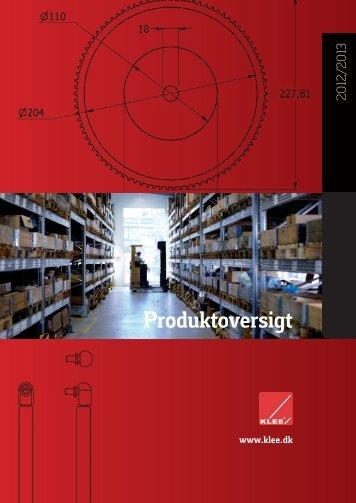 Samlet Produktkatalog - Brd. Klee A/S