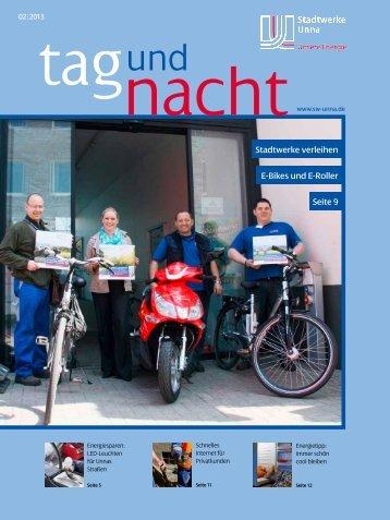 """Tag und Nacht"""" 02/2013 (2.7 MB) - Stadtwerke Unna"""