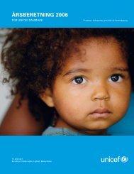 ÅRSBERETNING 2006 - Unicef