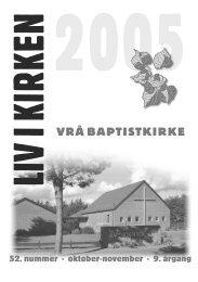 Liv i Kirken - Vrå Baptistkirke