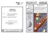 Ronyt nr. 2 Marts-April - Køge Roklub