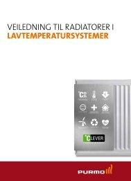 VEILEDNING TIL RADIATORER I LAVTEMPERATURSYSTEMER