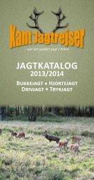 Jagtkatalog 2013/2014 - Kant Jagtrejser