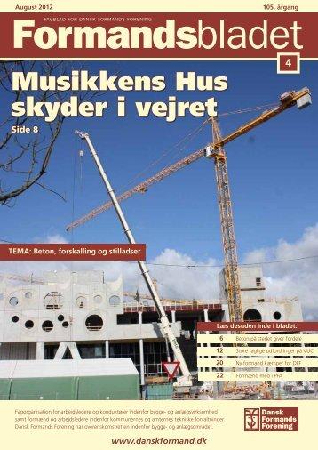 Vi har maskinerne - Dansk Formands Forening