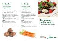 Tag køkkenet med i marken - Alt om kost