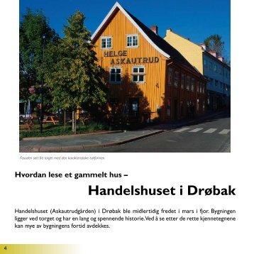 Handelshuset i Drøbak - Fortidsminneforeningen
