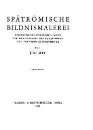 SPÄTRÖ Μ BIL~NI°MALEREI - L'Erma di Bretschneider