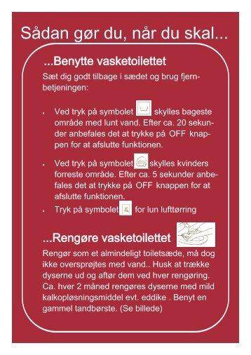 Quickguide til Aspen Bidet - toilet-bidet.dk