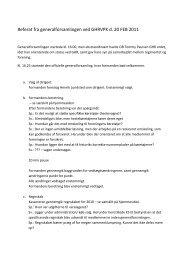 Referat fra generalforsamlingen ved GHRVPK d. 20 FEB 2011