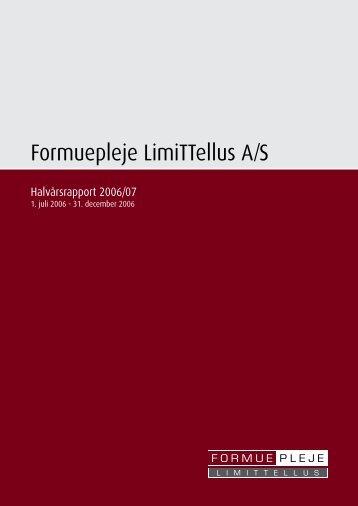 Formuepleje LimiTTellus A/S