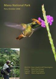 Peru, 2006 (click to download pdf)